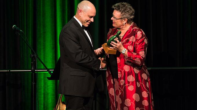 新西兰天然健康产品至高奖颁奖现场
